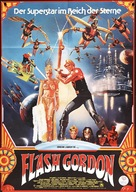Flash Gordon - German Movie Poster (xs thumbnail)