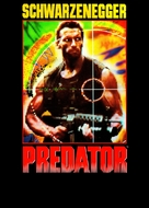 Predator - German DVD cover (xs thumbnail)