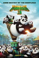 Kung Fu Panda 3 - Thai Movie Poster (xs thumbnail)