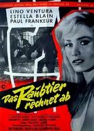 Fauve est lâché, Le - German Movie Poster (xs thumbnail)