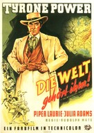 The Mississippi Gambler - German Movie Poster (xs thumbnail)