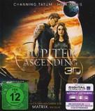 Jupiter Ascending - German Blu-Ray cover (xs thumbnail)