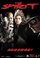 The Spirit - Brazilian Movie Poster (xs thumbnail)