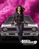 Fast & Furious 9 - German Movie Poster (xs thumbnail)