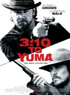3:10 to Yuma - Danish Movie Poster (xs thumbnail)