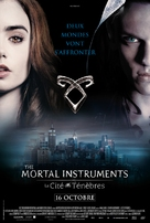 The Mortal Instruments: City of Bones - French Movie Poster (xs thumbnail)