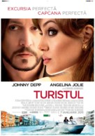 The Tourist - Romanian Movie Poster (xs thumbnail)