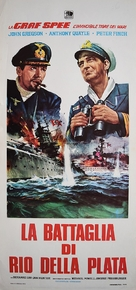 The Battle of the River Plate - Italian Movie Poster (xs thumbnail)