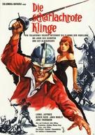 The Scarlet Blade - German Movie Poster (xs thumbnail)