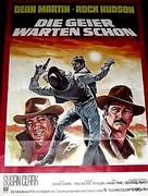 Showdown - German Movie Poster (xs thumbnail)