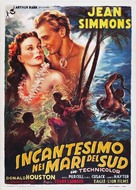The Blue Lagoon - Italian Movie Poster (xs thumbnail)
