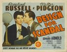 Design for Scandal - Movie Poster (xs thumbnail)