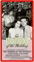 The Member of the Wedding - VHS cover (xs thumbnail)