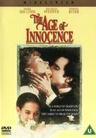 The Age of Innocence - British DVD movie cover (xs thumbnail)