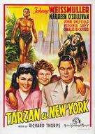 Tarzan's New York Adventure - Italian Movie Poster (xs thumbnail)
