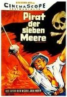Dominatore dei sette mari, Il - German Movie Poster (xs thumbnail)
