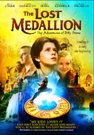 The Lost Medallion: The Adventures of Billy Stone - DVD cover (xs thumbnail)