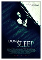 Don't Sleep - Movie Poster (xs thumbnail)
