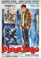 Le beau Serge - Italian Movie Poster (xs thumbnail)