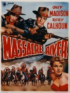 Massacre River - Belgian Movie Poster (xs thumbnail)
