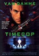 Timecop - German Movie Poster (xs thumbnail)
