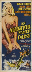 An Alligator Named Daisy - Australian Theatrical poster (xs thumbnail)