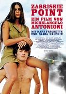 Zabriskie Point - German Movie Poster (xs thumbnail)