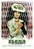 Elena et les hommes - Spanish Movie Poster (xs thumbnail)