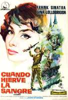Never So Few - Spanish Movie Poster (xs thumbnail)