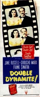 Double Dynamite - Movie Poster (xs thumbnail)