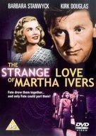 The Strange Love of Martha Ivers - British DVD movie cover (xs thumbnail)