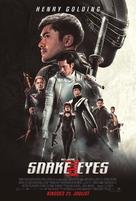 Snake Eyes: G.I. Joe Origins - Estonian Movie Poster (xs thumbnail)