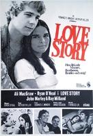 Love Story - Swedish Movie Poster (xs thumbnail)