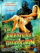 The Return of Swamp Thing - French Movie Poster (xs thumbnail)