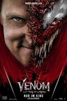 Venom: Let There Be Carnage - German Movie Poster (xs thumbnail)