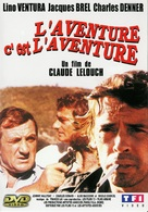 Aventure, c'est l'aventure, L' - French Movie Cover (xs thumbnail)