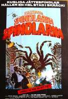 The Giant Spider Invasion - Swedish Movie Poster (xs thumbnail)