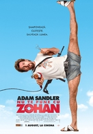 You Don't Mess with the Zohan - Romanian Movie Poster (xs thumbnail)