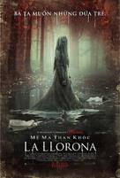 The Curse of La Llorona - Vietnamese Movie Poster (xs thumbnail)
