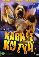 The Karate Dog - Hungarian Movie Cover (xs thumbnail)