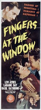 Fingers at the Window - Movie Poster (xs thumbnail)