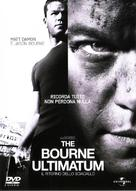 The Bourne Ultimatum - Italian DVD cover (xs thumbnail)