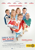 Alibi.com - Hungarian Movie Poster (xs thumbnail)