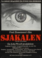 The Day of the Jackal - Danish Movie Poster (xs thumbnail)
