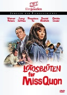 Lotosblüten für Miss Quon - German DVD movie cover (xs thumbnail)