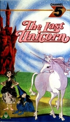 The Last Unicorn - British VHS cover (xs thumbnail)