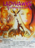 Ladyhawke - French Movie Poster (xs thumbnail)