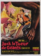 Jack the Giant Killer - French Movie Poster (xs thumbnail)