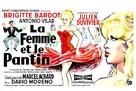 La femme et le pantin - Belgian Movie Poster (xs thumbnail)