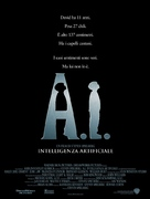 Artificial Intelligence: AI - Italian Movie Poster (xs thumbnail)